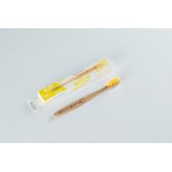 Детска четка за зъби NORDICS с жълт косъм