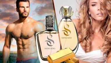 "Български маркови парфюми ""Sangado"""